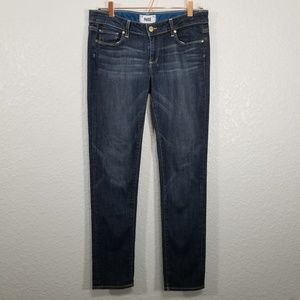 Paige Jimmy Jimmy Skinny Mid Rise Jeans